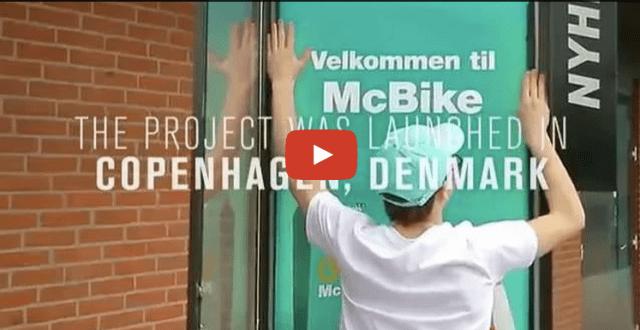 ambalaj mcdonalds pentru biciclisti