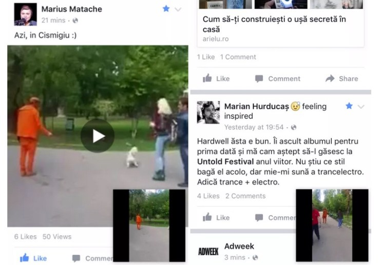 facebook video - mobil