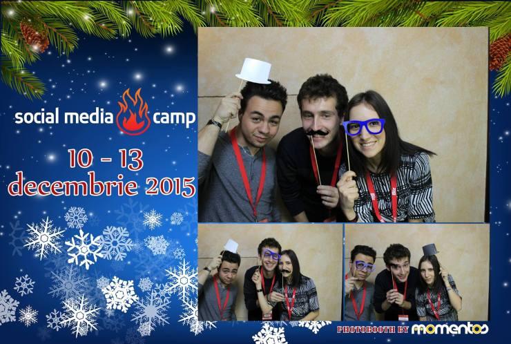 social media snow camp