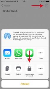 protejeaza notitele prin parola - iphone 3