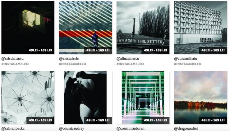 instacameleo - tablouri cu poze de pe Instagram