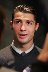Cristiano Ronaldo Black Earrings