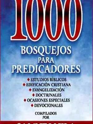 100 Bosquejos para predicadores, un libro con los mejores sermones