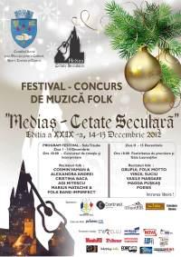 Festival-concurs de muzică folk, Mediaş - Cetate Seculară 2012