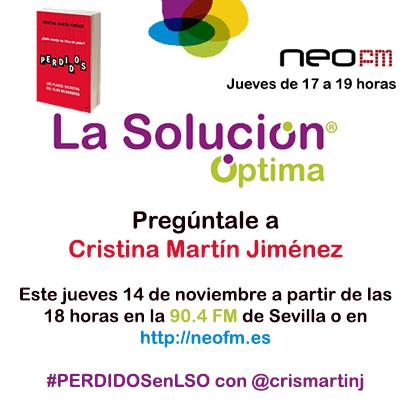 #PERDIDOSenLSO con @crismartinj