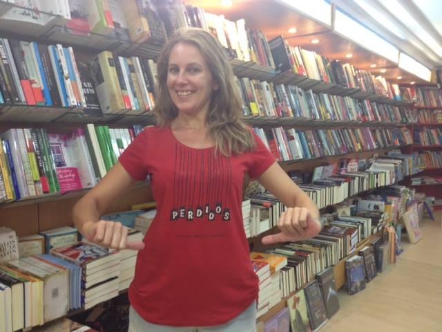 camiseta perdidos en chipiona libreria central