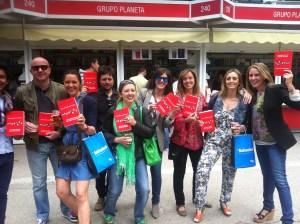 PERDIDOS en la Feria del Libro de Madrid 2014
