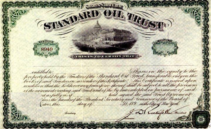 Standard oil - David Rockefeller