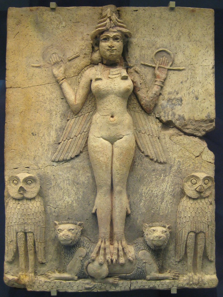Innana British_Museum_Queen_of_the_Night