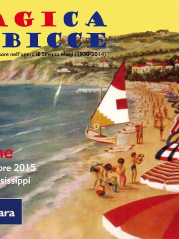MAgica Gabicce - cartolina promozionale per la mostra