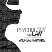 Psychology and Law: A Critical Introduction