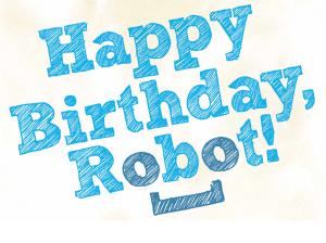 The Happy Birthday, Robot! logo