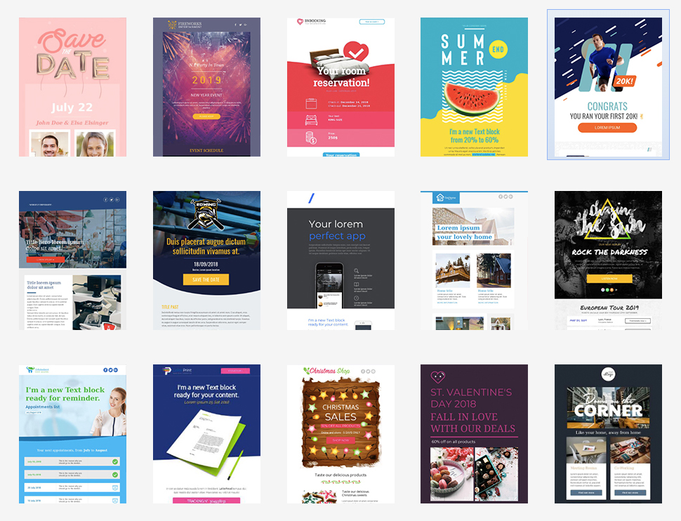 19 New Email Templates for 2019 \u2013 Critical Impact