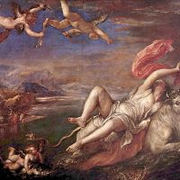 Tizian – Rape of Europa 1562