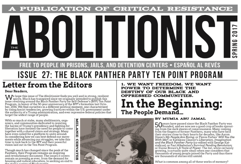 Issue 27 Of The Abolitionist Paper Is Here Critical