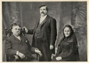 Founders: Charles Crittenton, Smith Allen and Dr. Kate Waller Barrett.
