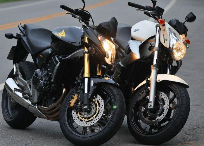 Car N Bike Hd Wallpaper Honda Cb 600f Vs Yamaha Xj6n Fotos Uol Carros