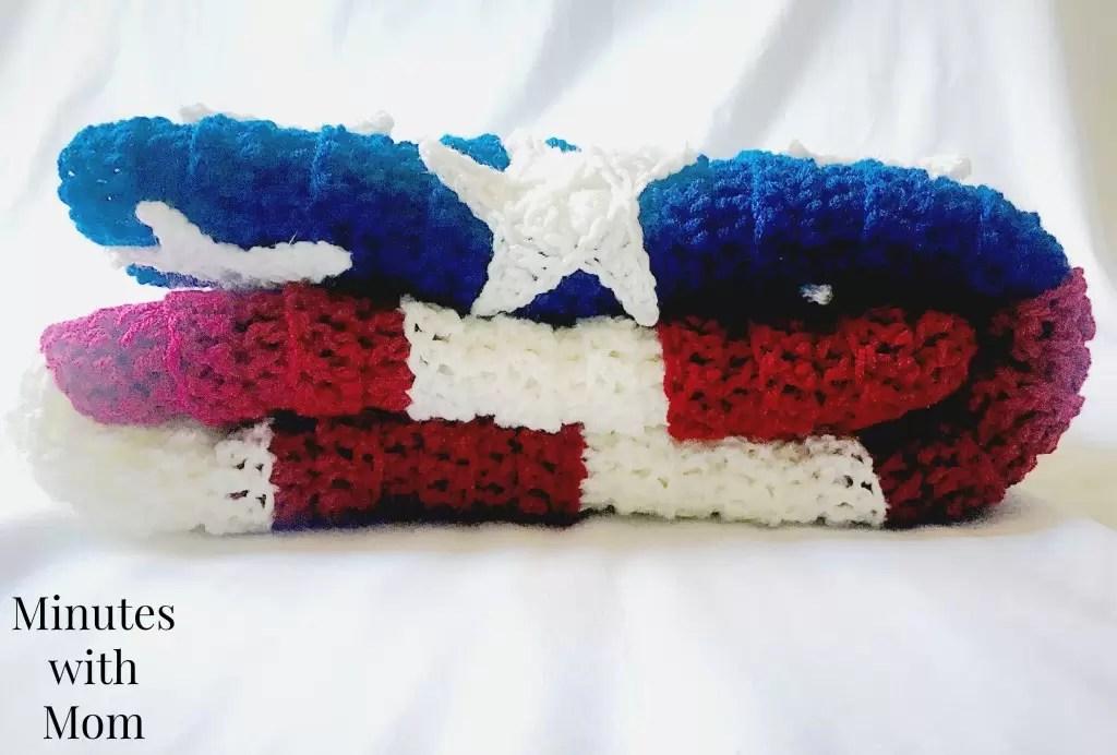 American Flag Shawl Erieairfair