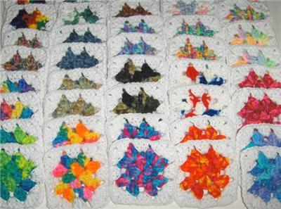 granny square crochet granny daughter's crochet on ebay