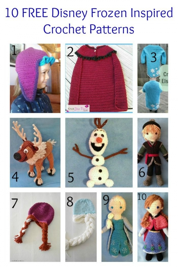 Crochet Frozen Doll Pattern : Free Patterns Frozen Stuff Let It Go Crochet