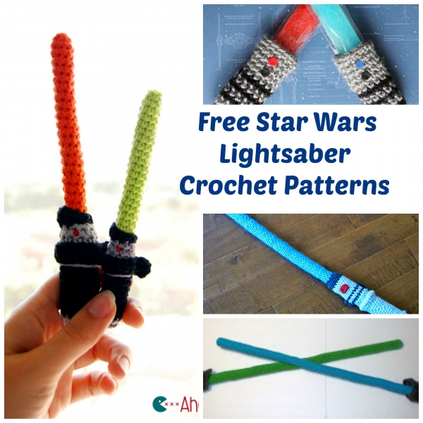 Light Saber List Crochet