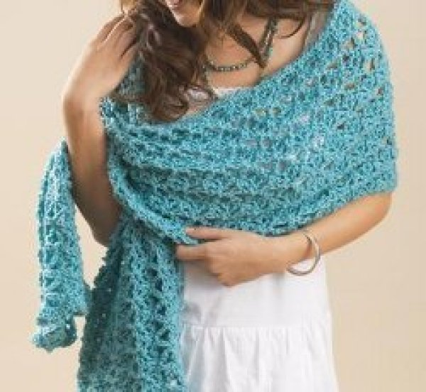 Swirl Wrap Free Crochet Pattern ~ Dancox for .