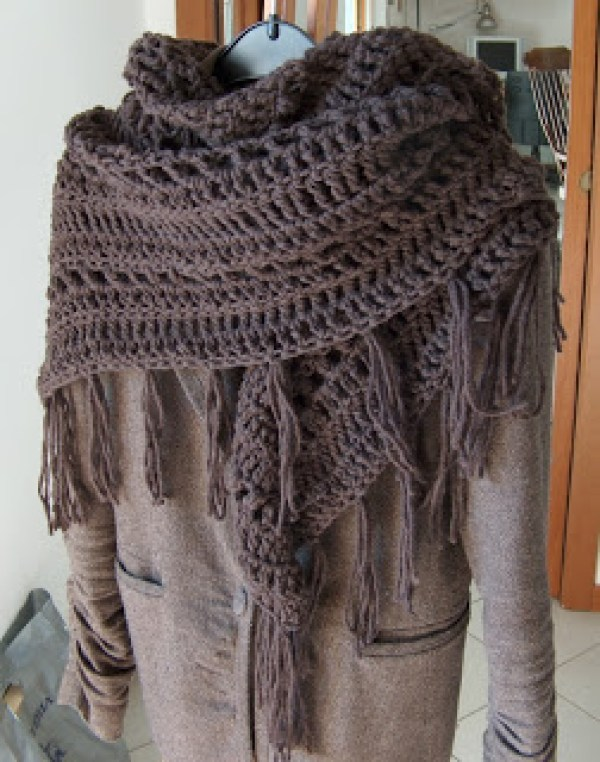 It?s A Wrap Shawl from Creative Yarn