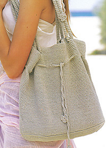 Crochet Shoulder Bag Pattern : Free Pattern ? Patons Rose Bag ? Crochet