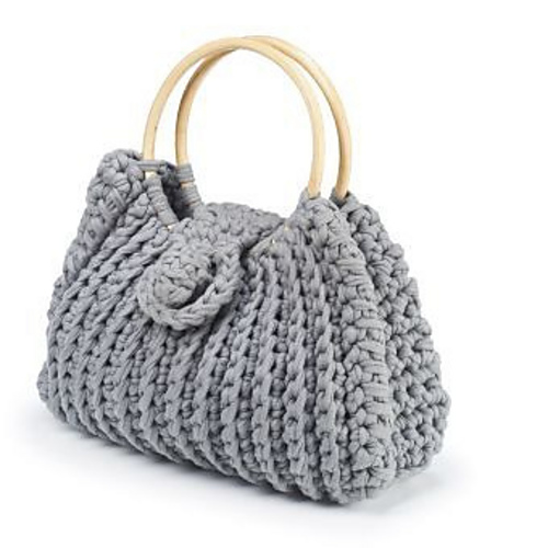 Free Crochet Bag : Free Pattern - Harriet Bag - Crochet