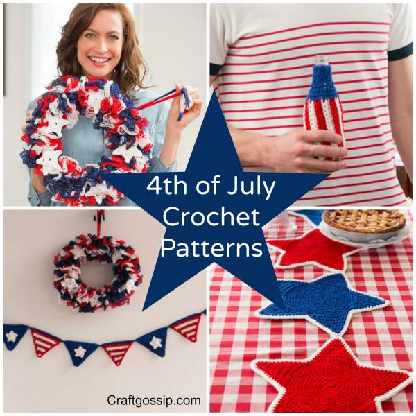4th of July Patriotic Crochet Patterns ? Crochet