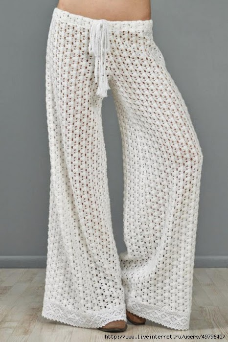 Crochet Yoga Patterns : This pattern is for all the people requesting a pants pattern.