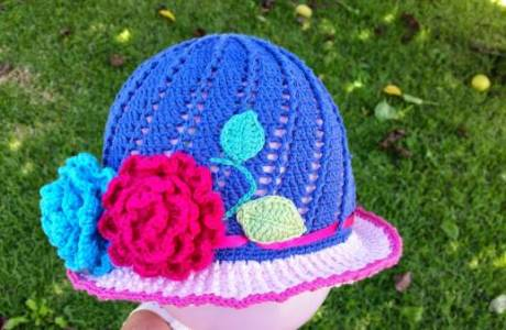 Free Pattern – Little Girls Cloche Hat