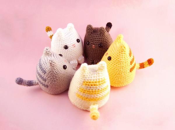 Free Pattern   Dumpling Kitty   Crochet