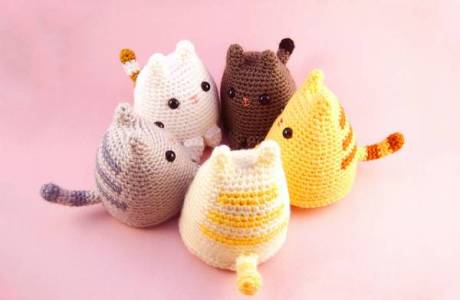 Free Pattern – Dumpling Kitty