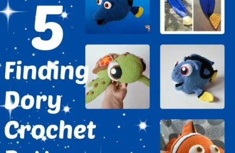 5 Of The Best Finding Dory Crochet Patterns