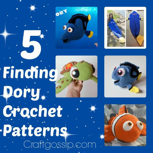 Amigurumi Sailor Octopus Pattern Free : 5 Of The Best Finding Dory Crochet Patterns Crochet