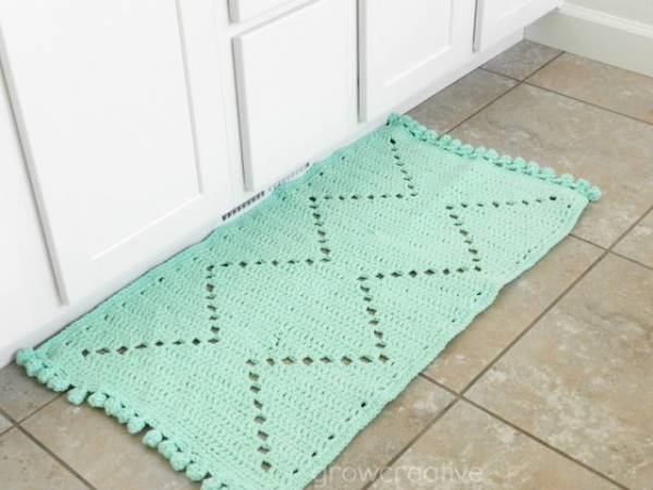 Crochet Patterns Free Rugs : Free Pattern ? Crochet Floor Rug ? Crochet