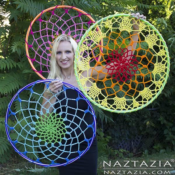 Giant Crochet Mandalas