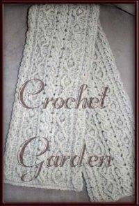 COOL CROCHET PATTERNS SCARF | Crochet Patterns Only