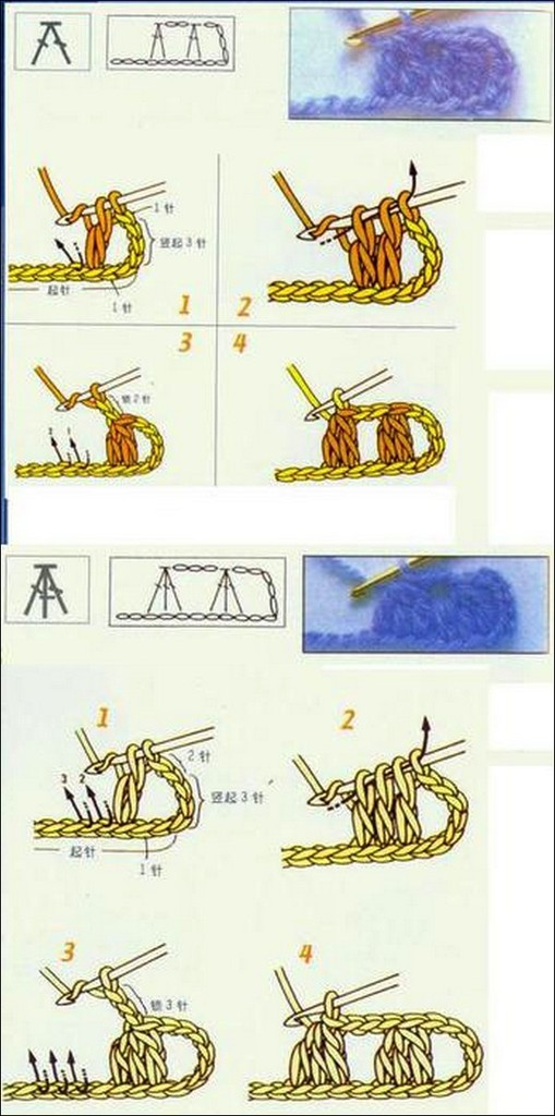 Ensemble Table Crochet Stitch Illustrated Tutorials ⋆ Crochet Kingdom