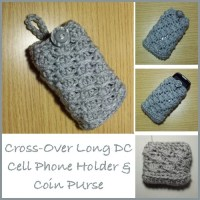 Cell Phone Holder and Coin Purse
