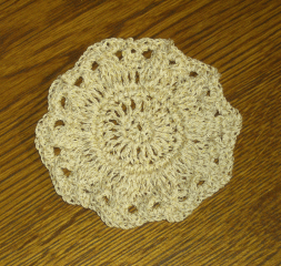 Free Crochet Patterns Using Crochet Thread : Crochet Thread Coaster ~ FREE Crochet Pattern