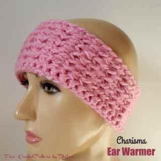 Charisma Ear Warmer - Free Crochet Pattern