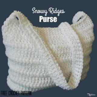 Snowy Ridges Purse ~ FREE Crochet Pattern