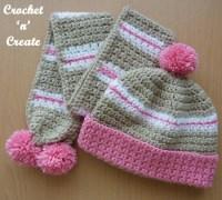 Crochet Childs Hat-Scarf uk Free Crochet Pattern - Crochet ...