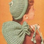 Pearl Encrusted Bag ~ Antique Crochet Patterns