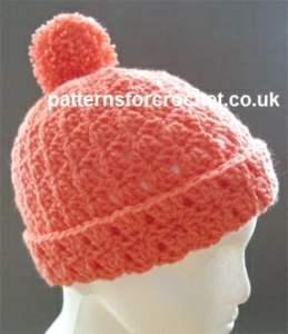 Free Crochet Pattern Bobble Hat : Bobble Hat ~ FREE Crochet Pattern