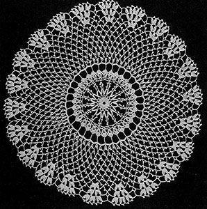 Occasional Doily #740 by Free Vintage Crochet