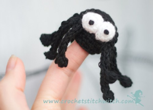 free crochet spider pattern
