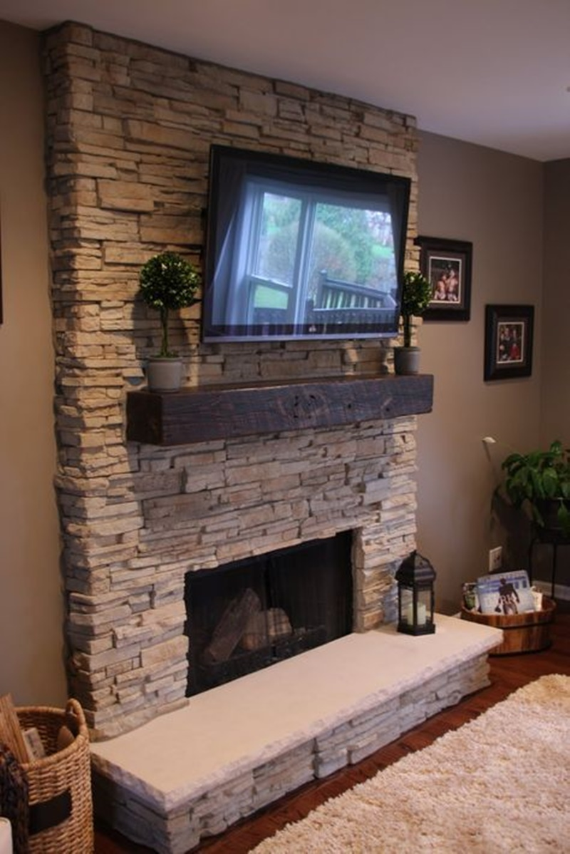 144 Amazing Stone Fireplace Ideas For Every Home